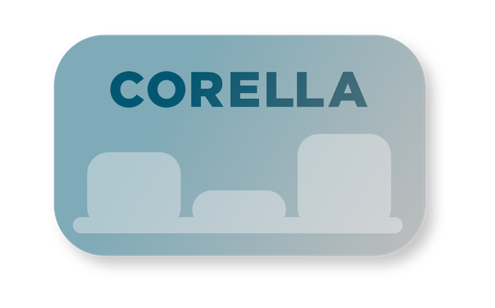Corella screenshots from slowcode